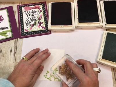 How to create a gorgeous Big on Birthdays Card