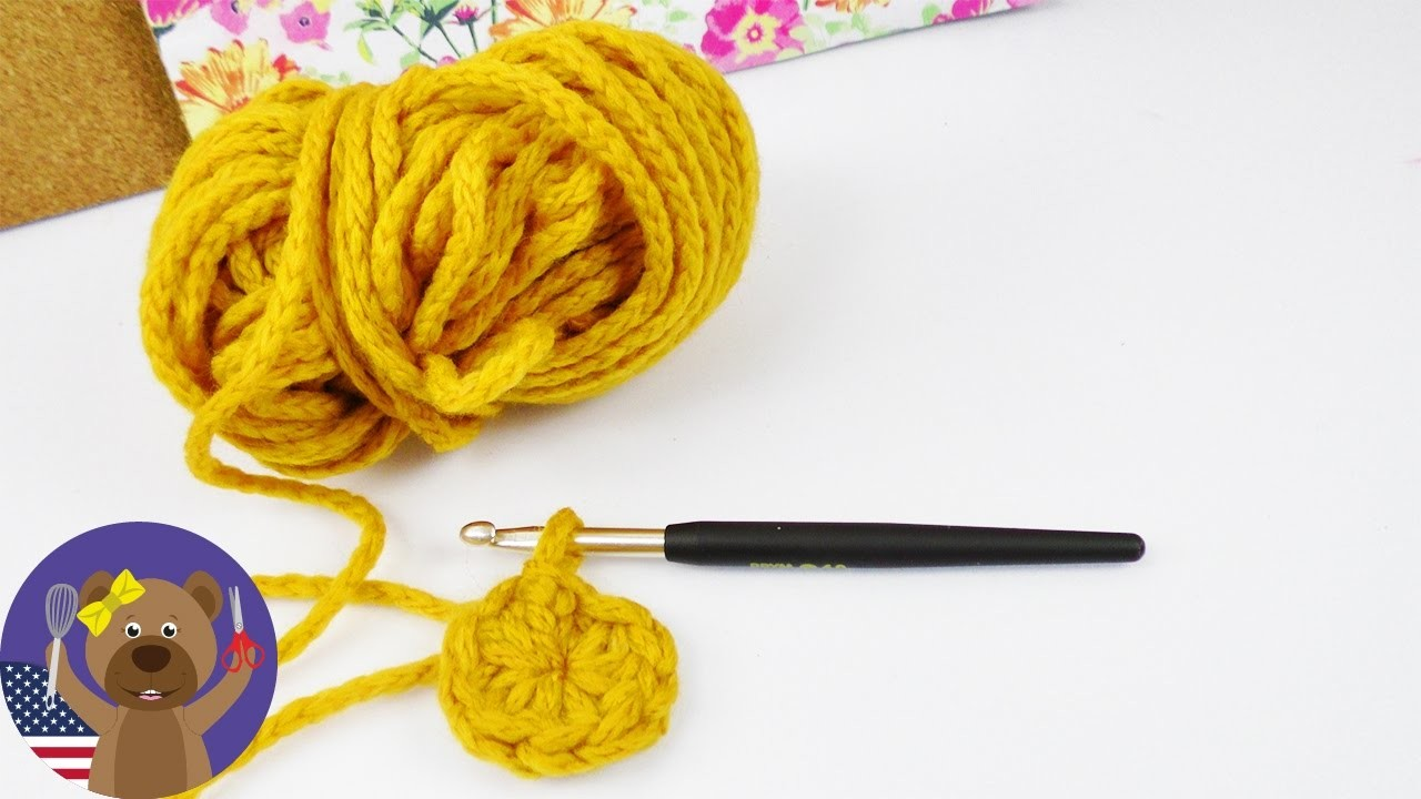 HOW TO crochet for Beginners | Crocheting in a Circle | Basics for Beginners | Magic Ring