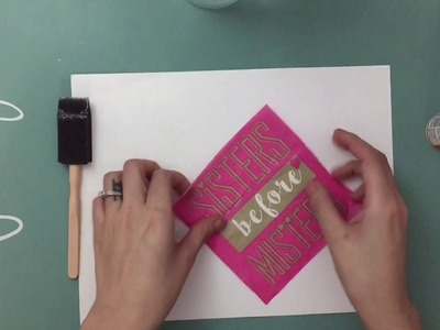 How to Decoupage Napkins for Paper Crafting