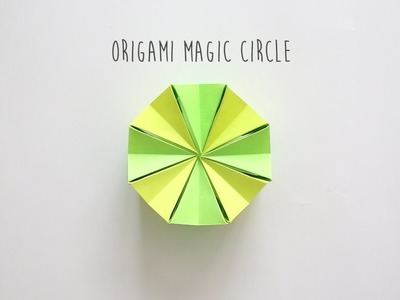 How to Fold: Magic Circle