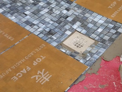 How to install Glass mosaics in showers Lunada Bay