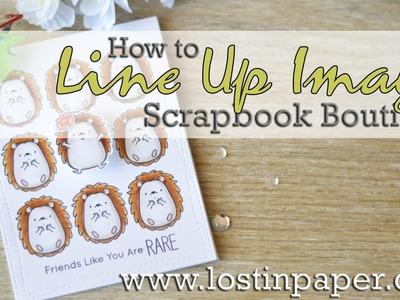 How to Line up MFT Images -  Scrapbook Boutique!