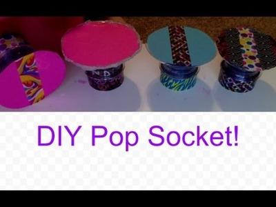 How to Make a DIY Pop Socket! ❤️
