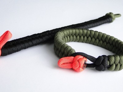 How to Make a Quick Deploy Fishtail Paracord Bracelet-Survival Plus+ by CbyS Paracord and More