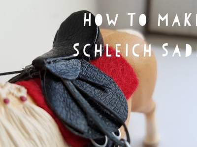How To Make a Schleich Saddle! | Daisy Stalls