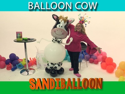 How To Make a Whimsical Balloon Cow
