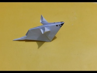 How to make dumbo rat Origami - paper crafts for kids