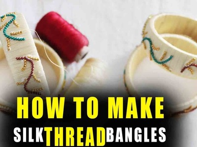 How to make Line art thread NEW  Bangle works |  | Latest thread bangles | zooltv