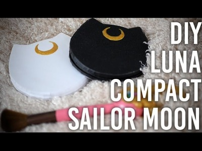How To Make : Luna Mirrored Makeup Compact - Sailor Moon Inspired