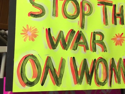 How to make protest signs,