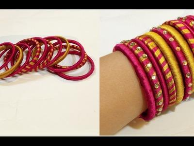 How To Make Silk Thread Bangles