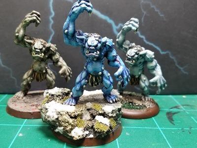 How to Paint a Reaper Bones Cave Troll