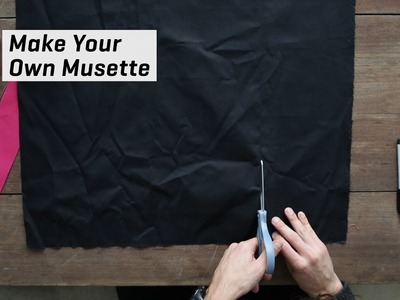 How to Sew Your Own Musette Bag