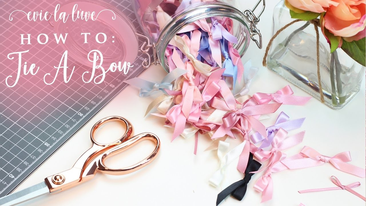 How To: Tie A Bow