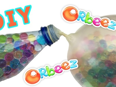 Orbeez Stress Ball DIY | How to Make a Stress Ball Squishy