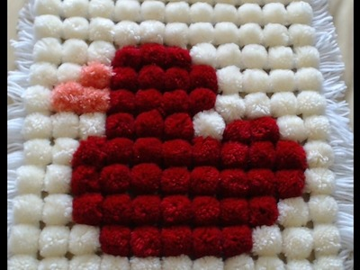 Pom Pom Blanket - How to add a design to your blanket