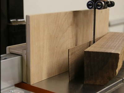 Quick and Simple Resaw Fence - How to
