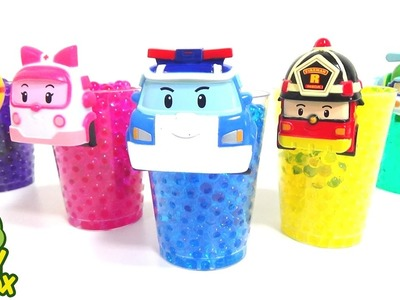 StressBall Orbeez DIY Surprise Eggs Learning Colors Poli Pororo Mario Animals