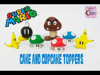 Super Mario Cake And Cupcake Toppers - FUN HOW TO