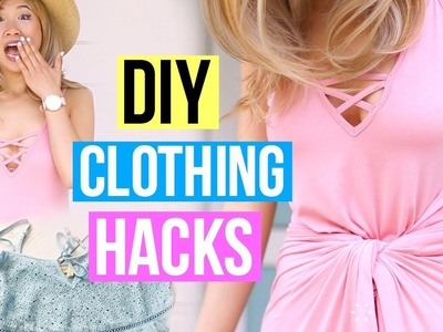 Top 15 DIY Ideas Clothes Life Hacks Make A Things New With Yourself Easy And Awesome -  Learn to hac