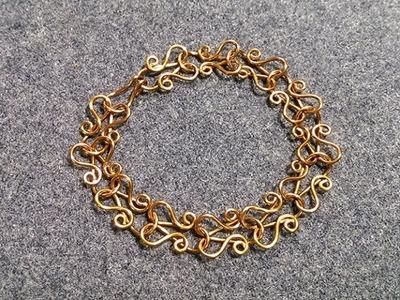 Wire bracelet - How to make wire jewelery 188