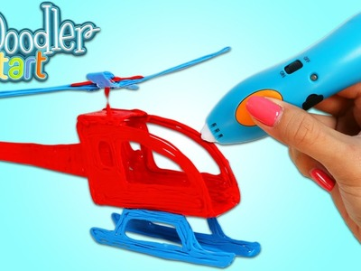 3Doodler Start 3D Pens For Kids Fun & Easy How to Make a Helicopter with 3D Drawing Pen!