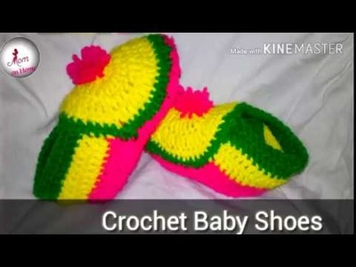 Crochet Baby Shoes-woolen Shoes