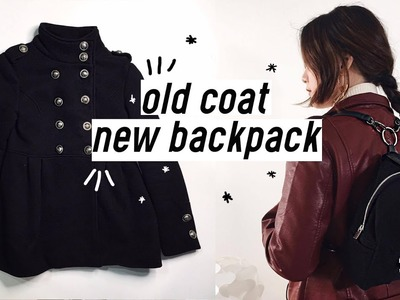 ✂️DIY Old Coat to Backpack | Qformation EP.3