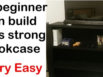 How to build a bookcase - Strong and Easy