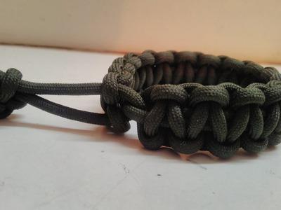 How to make Bracelet from rope in hindi   DIY   Mad max bracelet   Tom hardy bracelet  