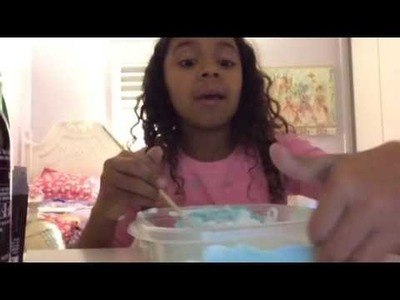 How to make fluffy slime by Sophie Calvo