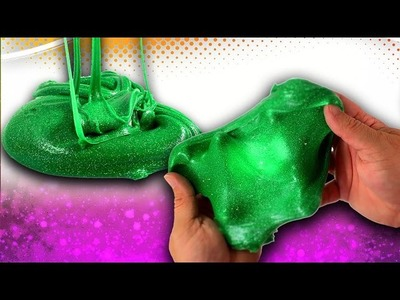 how to make green slime without borax