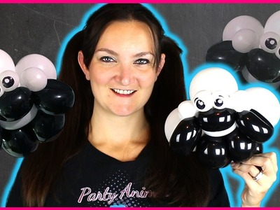 LAMB  Balloon Animal Tutorial - Twister Sister