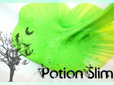 POTION SLIME ??? | how to make slime ?
