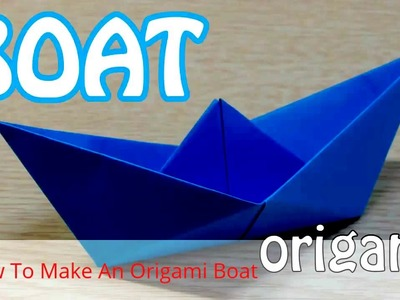 How to make a paper boat simple and easy - Origami