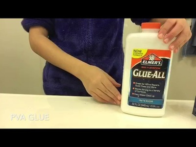 How to make Basic Slime! (Without borax or laundry detergent)