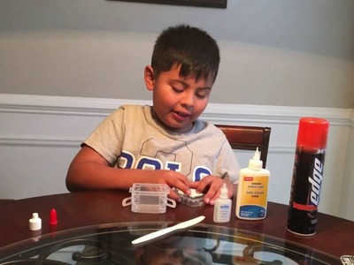HOW TO MAKE SLIME WITH SHAVING GEL , PV GLUE , EYEDROPS OR CONTACT SOLUTION !! Enjoy