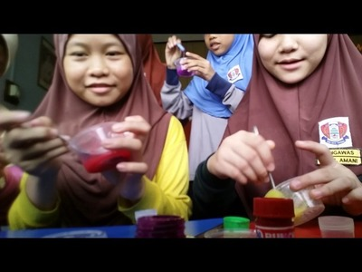 How to make slime with slime activator.Easy