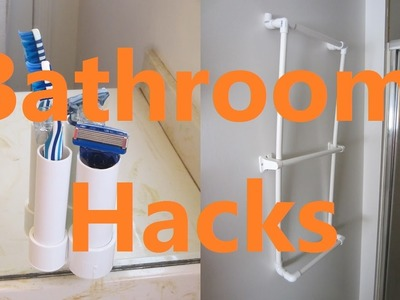 5 Life Hacks for Small Bathrooms