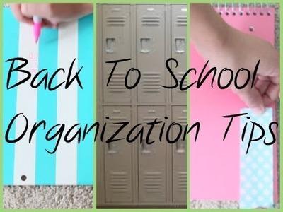 BTS → Locker and Class Organization Tips!