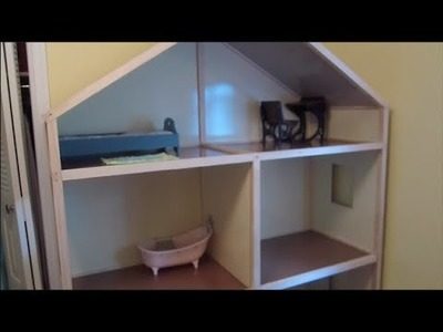 Building My American Girl Dollhouse