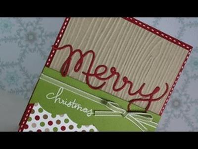 Christmas Card Series #5: Merry Christmas