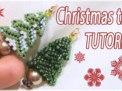 Christmas tree Tutorial - Beaded Christmas tree - DIY Christmas tree - Beading Tutorial
