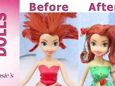 Disney Fairy Rosetta Makeover - Poison Ivy