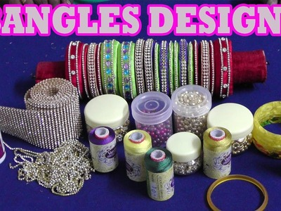 DIY Fancy Bangles At Home :How to Make Zig zag Silk Thread Bangles Making Tutorial for Beginners
