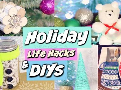 DIY Holiday Gift Ideas, Life Hacks, & Winter Room Decor! Christmas How To