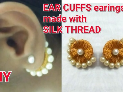 "DIY ideas||how to make"" EAR CUFFS"" earings