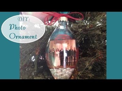 DIY: Photo Ornament