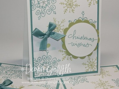 Endless Wishes Christmas card with Dawn