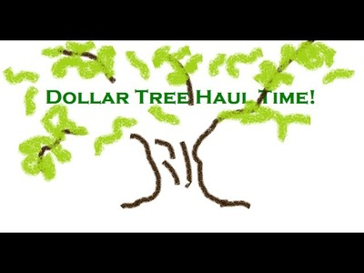 GIANT Dollar Tree Haul part 1 of 3